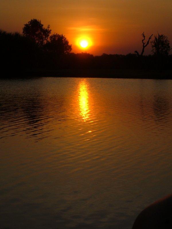 sunset, Kakadu national park