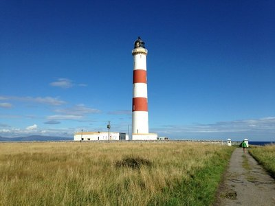 Tarbet Ness Lighthouse