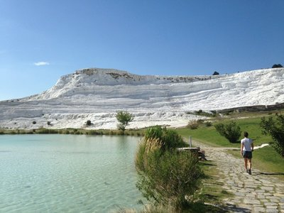 The white terraces of Pamukkale