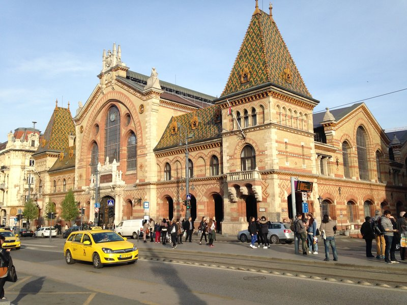 Images of Budapest - Central Market Hall
