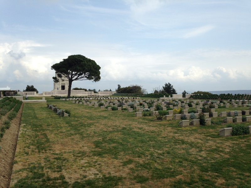 Lone Pine Cemetery and Memorial