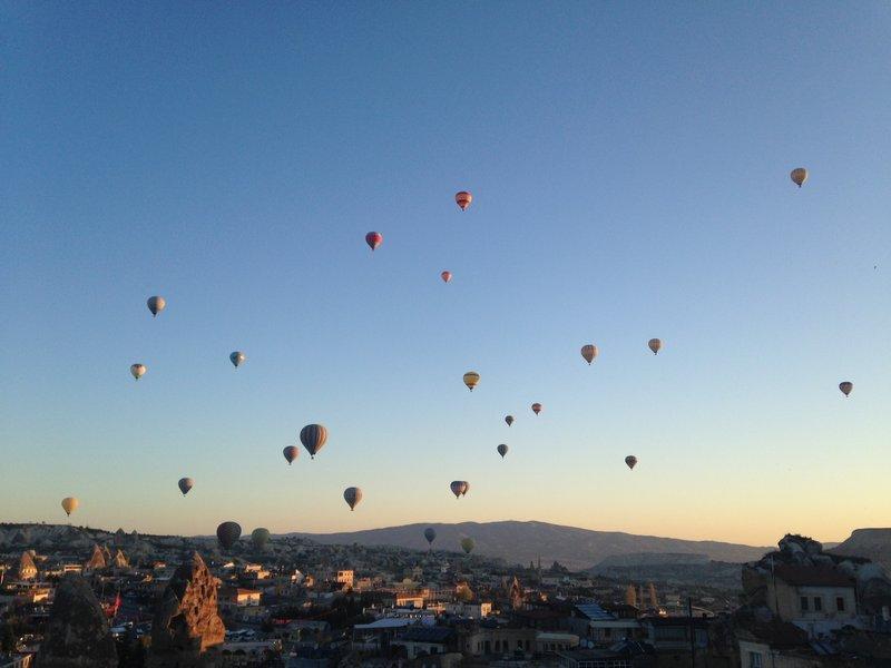 Ballons over Cappadocia