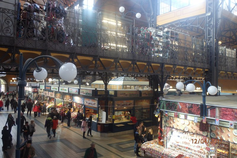 Images of Budapest - Inside the Central Market Hall