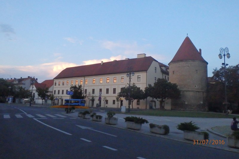 The streets. buildings and parks of Zagreb!