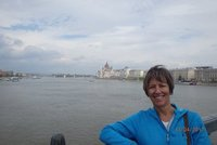 Images of Budapest - Parliament Building across the Danube from the Chain Bridge