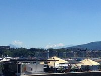 Mt Blanc from Geneva