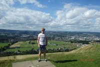 The view from Castle Hill over Huddersfield
