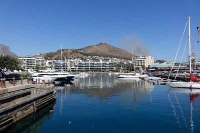 Cape Town - Signal Hill with marina below