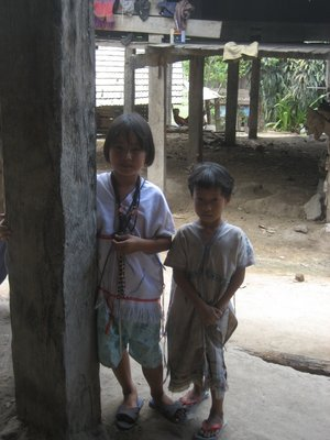 The children of Kareng village