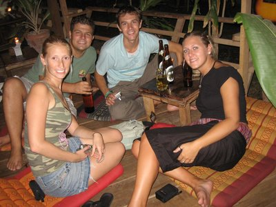 Evening out in Krabi