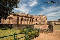Hindola Mahal  at Mandu,Madhya Pradesh,india