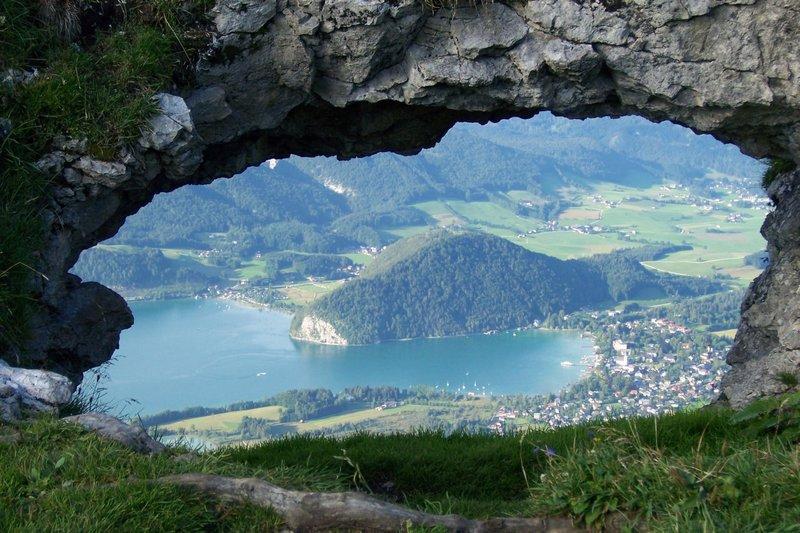 Mountain hole