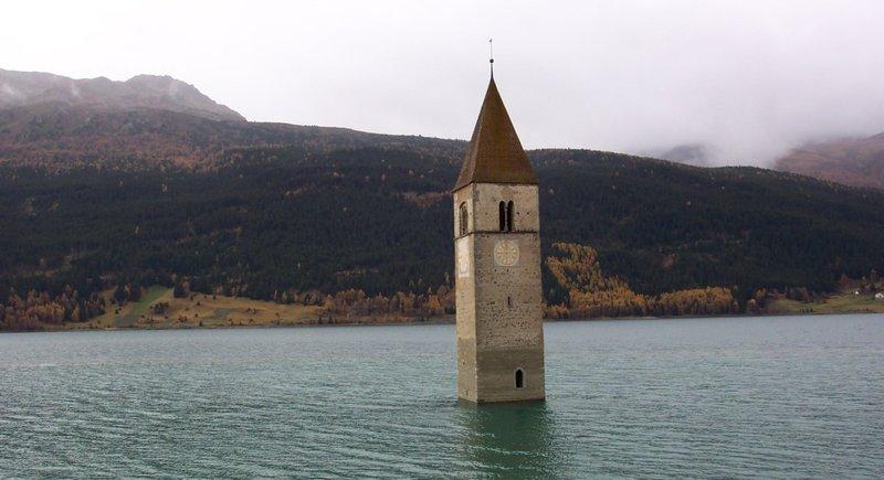 Church in the lake