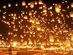Chiang Mai Lichtfestival