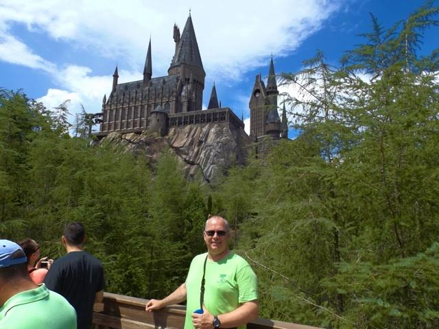 Me at Hogwarts