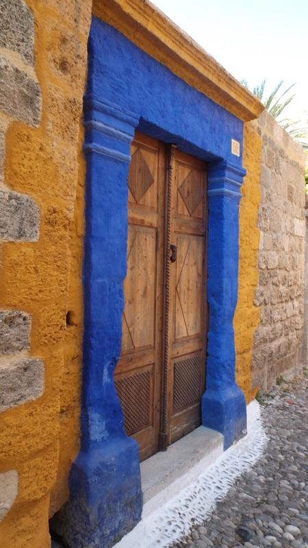 Blue Archway