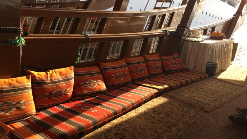 Dhow. Cool and comfortable