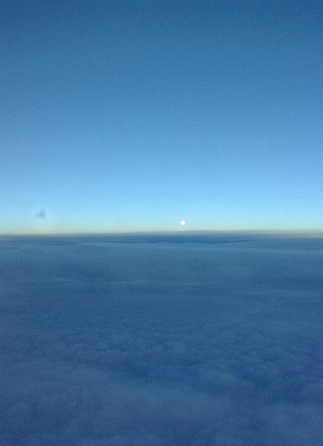 Moonlight over Atlantic