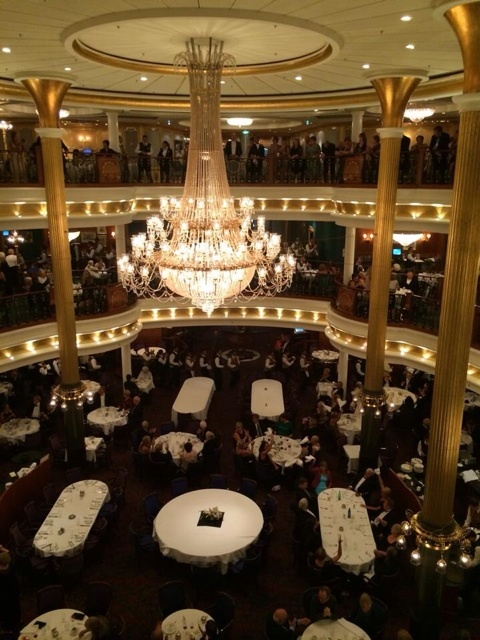 Main dining room from deck 5