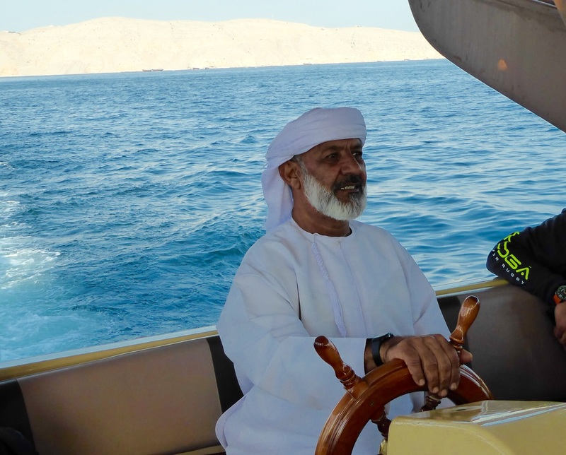 Captain of the Dhow