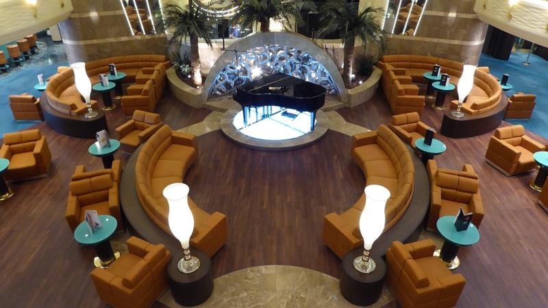 A quiet atrium