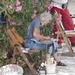 Artist near Acropolis