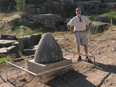 The Omphalos stone, the navel of the World.