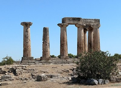 The Temple of Apollo, Archaia Korinthos