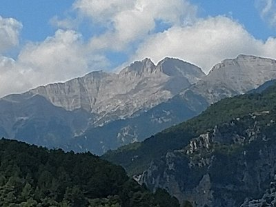 Mount Olympos.