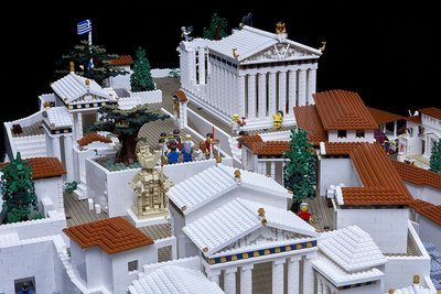 The Lego Parthenon, Acropolis Museum