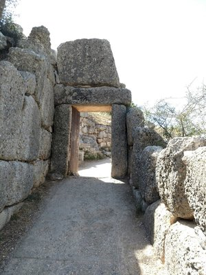 Postern Gate at Mycenae.
