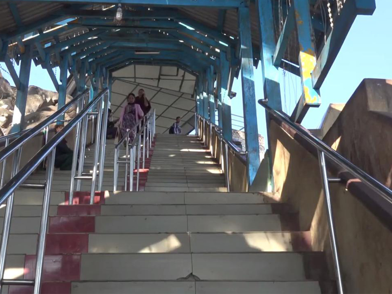 Taung Kalat Temple Stairs