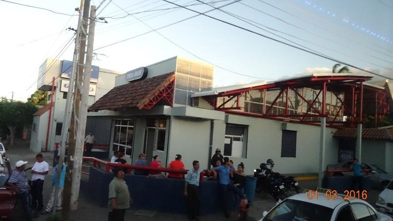 arrival in Managua