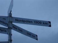Nordpolen 1309km