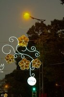Street light decor