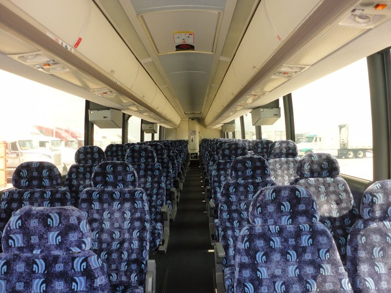 Charter bus rental for tours