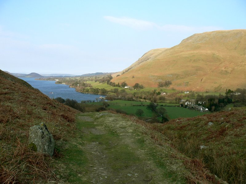 View of Lake Ullswater from Howtown