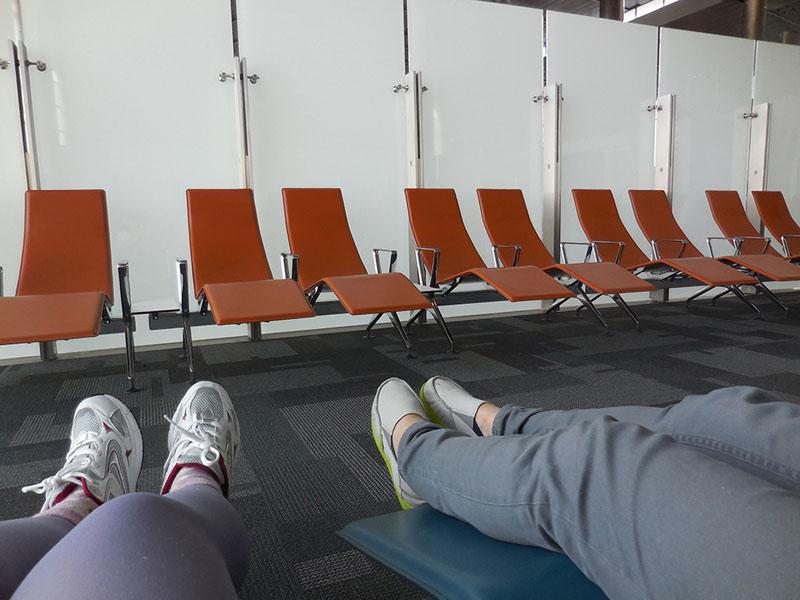Lounge at Hamad International Airport