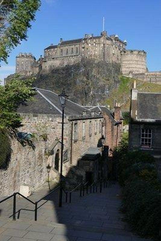 Edinburgh Castle, near Flodden Wall, Edinburgh