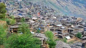 barpalk village before earthquake