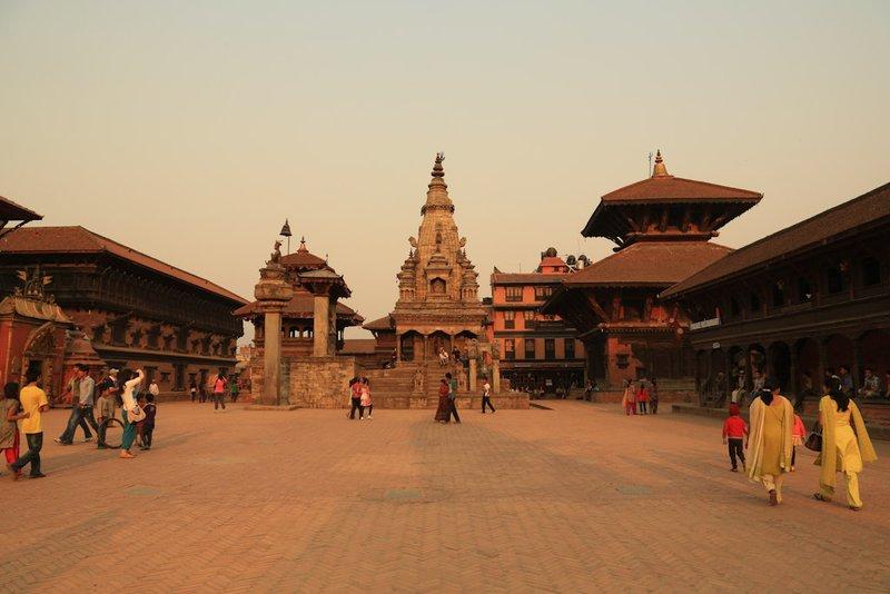 Bhaktapur-Durbar-Square-in-Nepal