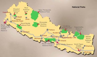 National parks in Nepal