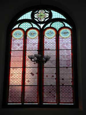Colored Window of Lawang Sewu - Semarang