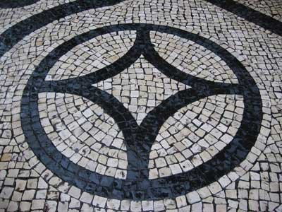 Pedestrian's pattern - Macau