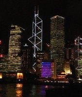 Central Hongkong from Kowloon Pier