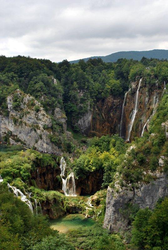 Waterfall, Plitvice Lakes