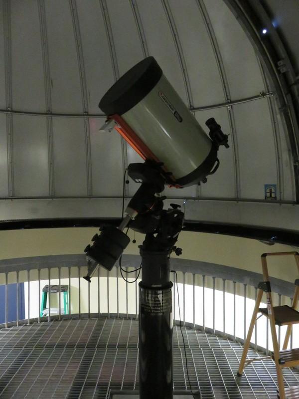 WVU 14 inch Telescope