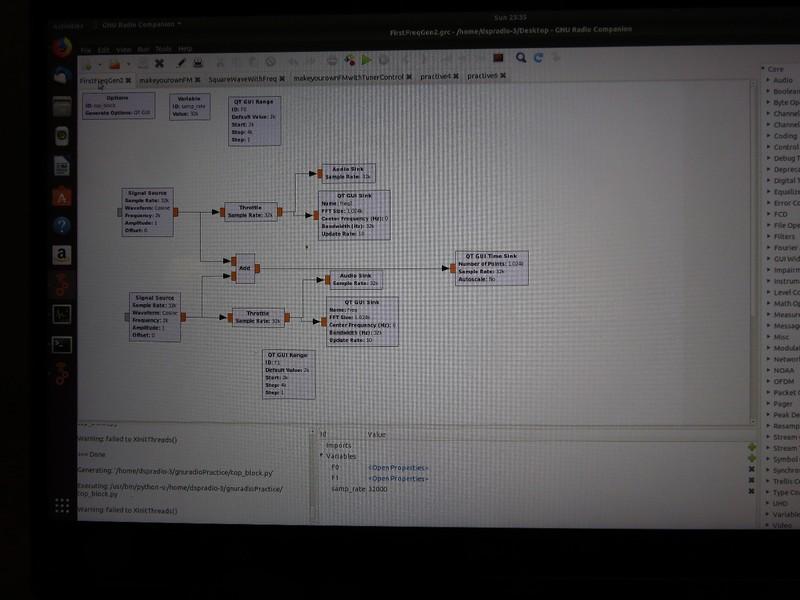 GnuRadio Programming