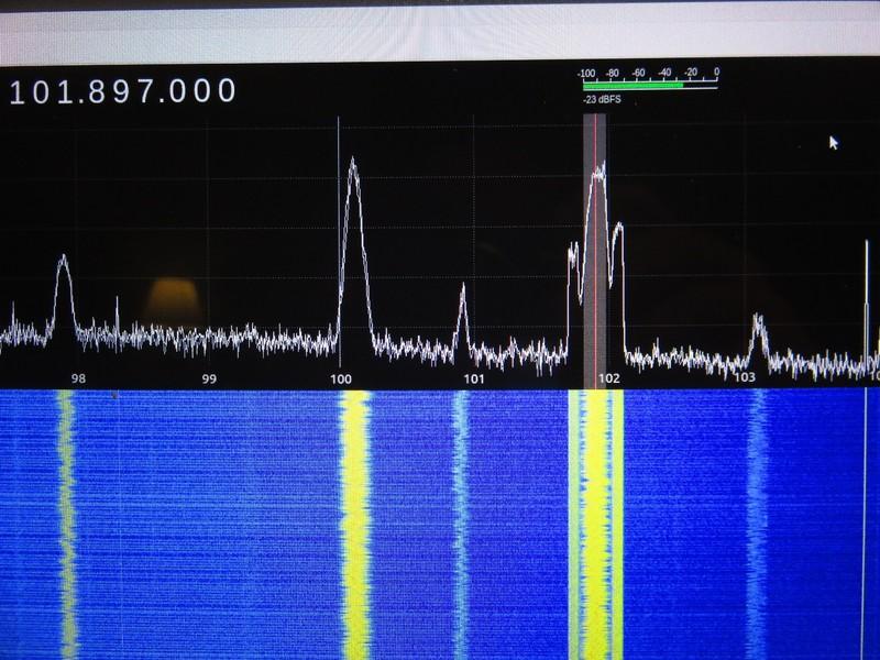 Screen Shot of Radio Station Strengths