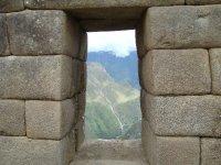 Window in Machu Picchu